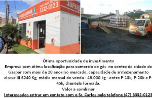 OPORTUNIDADE DE INVESTIMENTO GASPAR.SC